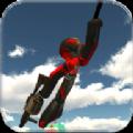 火柴人绳索英雄2中文汉化版下载(Stickman Rope Hero 2)1.1