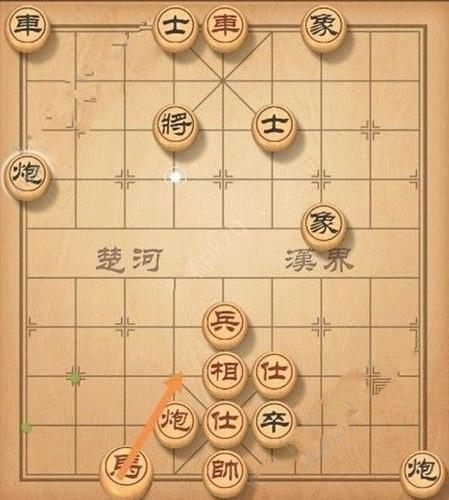 《天天象棋》残局挑战132期怎么走