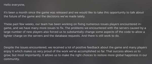 ARPG《破坏领主》未来计划介绍 先修BUG再搞新内容