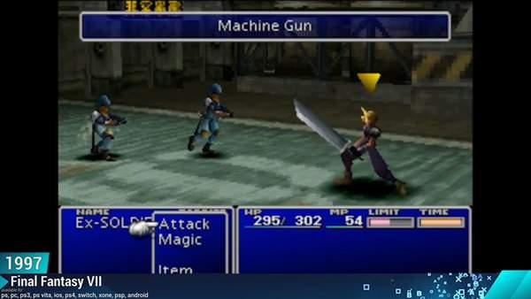 《最终幻想7》进化史 任凭旅途坎坷,克劳德砥砺前行