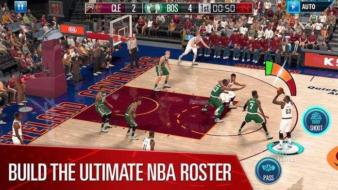 NBA2K移动版官网联机版图片2