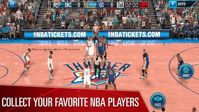 NBA2K移动版官网联机版图片1