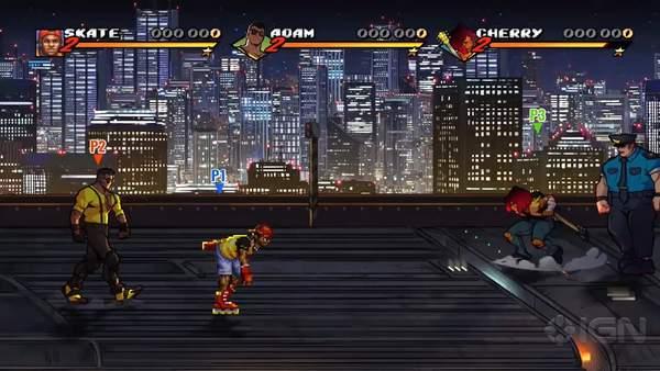 经典街机新作《怒之铁拳4》试玩演示 激燃热血依旧