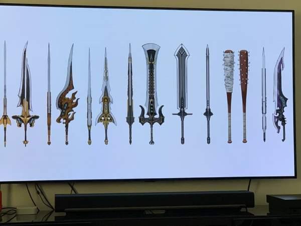 《FF7:重制版》艺术集武器展示 部分或在第二章中登场