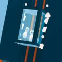速降电梯0.1