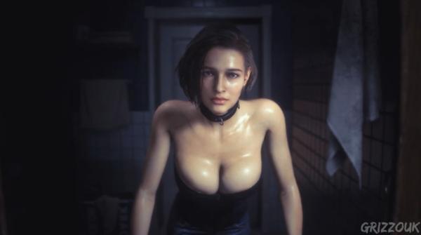 《生化3:重制版》吉尔丰胸MOD 有一说一,太大了