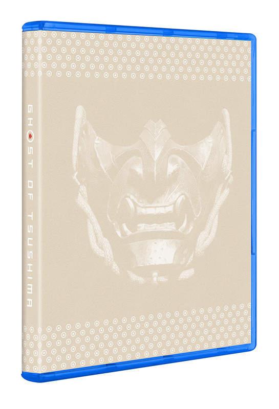 《对马之魂》实体版有可逆封面 另一侧图案为恶鬼面具