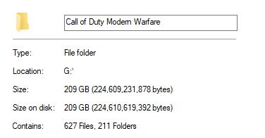 体积越来越大!《使命召唤16》PC硬盘容量超200GB