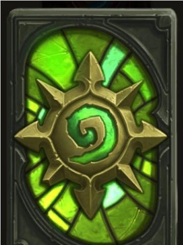 《炉石传说》黑暗神庙卡背介绍