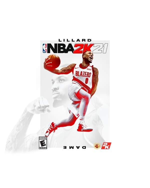 《NBA 2K21》揭晓首位封面球员 开拓者达米安·利拉德