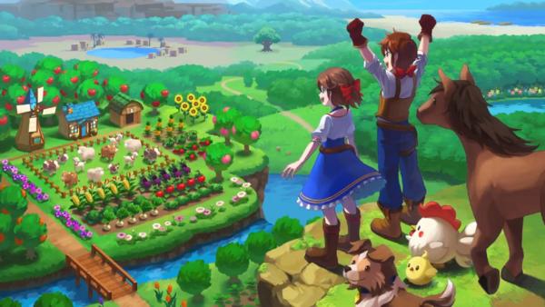 Natsume新作《牧场物语:一个世界》预告 今秋发售