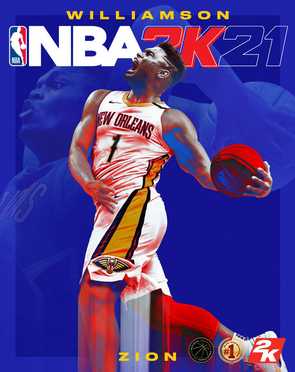 PS5/XSX《NBA 2K21》封面球员:鹈鹕锡安-威廉姆斯