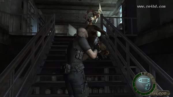 《生化危机4》民间HD版超长演示 图像纹理和光线提升