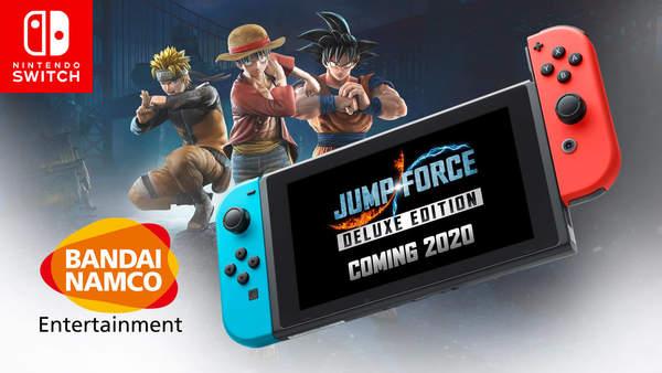 多款NS新作容量曝光 《Jump大乱斗:豪华版》9.8GB