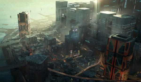 """《赛博朋克2077》城区介绍 夜之城最大""""睡城""""海伍德"""