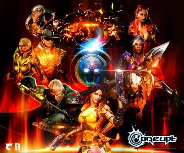 免费格斗游戏《Coreupt》新演示 角色战斗和连击展示