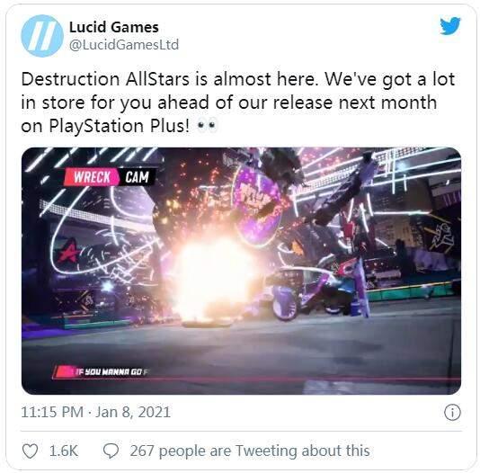PS5《毁灭全明星》将公布新演示、情报 或为DLC计划