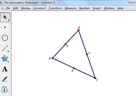 几何画板一次性把所有点隐藏的操作教程截图