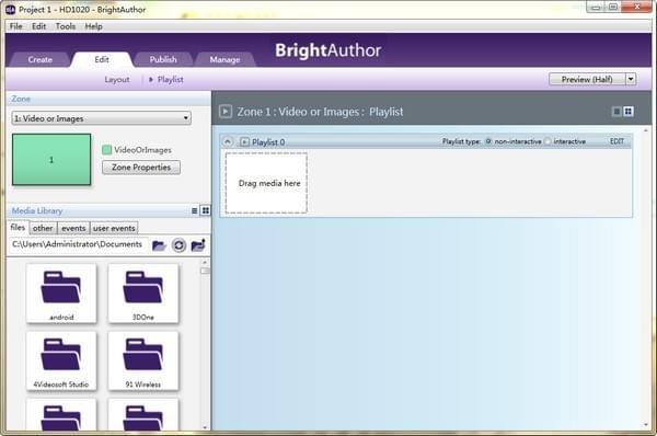 BrightAuthor