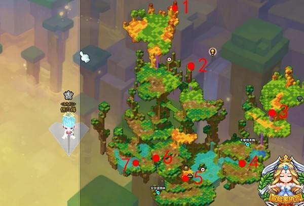 冒险岛2玩具森林黄金宝箱在哪 冒险岛2玩具森林黄金宝箱位置分布