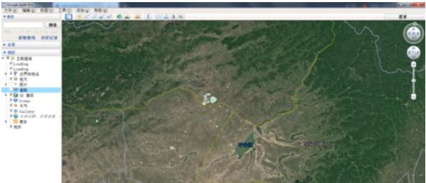 谷歌地球(google earth)查找目的地的具体方法截图