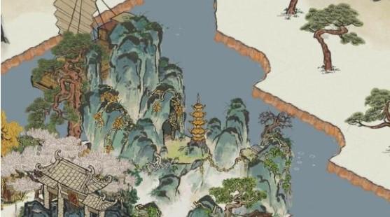 江南百景图云梦山效果展示 建筑和广寒宫应该也是绝配