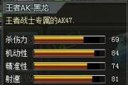 4399创世兵魂王者AK-黑龙多少钱?创世兵魂王者AK-黑龙属性